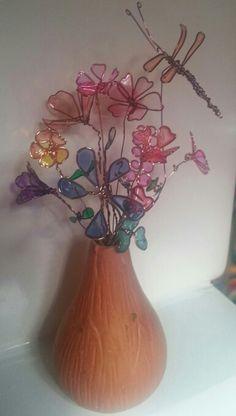 More fingernail polish flowers