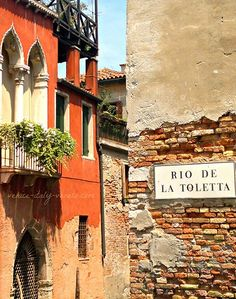 Exploring the little lanes and hidden corners of Venice Italy