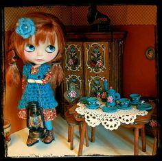 Blythe Dolls Vintage House