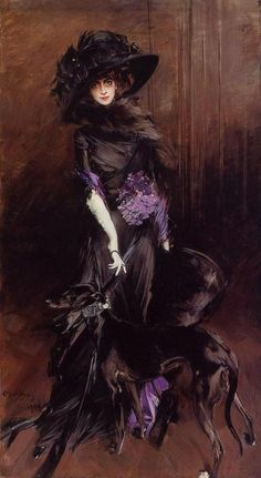 `Marchesa Luisa Casati` - Boldini