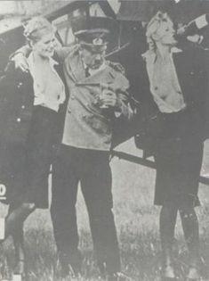 Hitler partying.