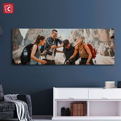 Who is excited to travel again? Turn those photos you took on your last trip into beautiful canvas wall prints!