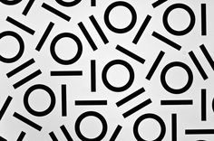 Typography gift wrap paper by Angelo Stitz, via Behance
