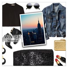 """""""New Winter Sunnies"""" by danielle-487 ❤ liked on Polyvore featuring Lela Rose, Gap, By Malene Birger, Paul Andrew, David Webb, KOTUR, Christian Louboutin, women's clothing, women's fashion and women"""