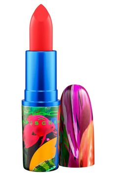 So bold and beautiful! This lipstick from Chris Chang for MAC is formulated to shade, showcase and define the lips.