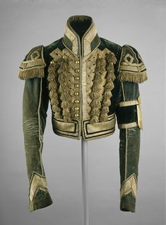 19th century military jacket, made at some point between 1825 - 1850