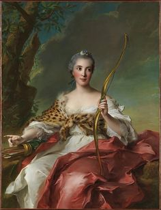 Madame de Maison-Rouge as Diana Jean Marc Nattier (French, Paris 1685–1766 Paris) Date: 1756 Medium: Oil on canvas Accession Number: 03.37.3