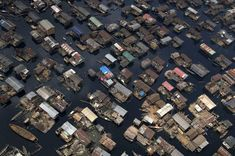 Lagos, Nigeria  Boat Homes. A land forced onto water  #neverhaveiever @StudentUniverse