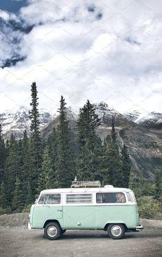 VW Bus Road Trip - Transportation - 1