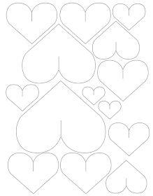 O blog da Mari: DIY - Como decorar a parede com corações de papel