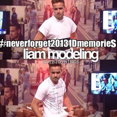Harry modeled too but not as well as Liam.  I could feel Liam's eyes melting my soul....
