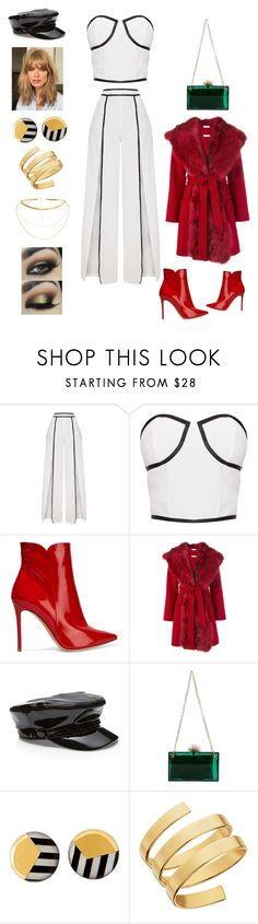 """""""Untitled #945"""" by ericap61720 ❤ liked on Polyvore featuring Gianvito Rossi, P.A.R.O.S.H., Charlotte Olympia and Lana"""
