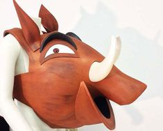 Pumba Pumbaa Lion King costume mask head, Kids + Adult sizes HEAD ONLY, Ready to Ship, Warthog hippo theatre hat Handmade Tentacle Studio Lion King Jr, Costume Hats, Adult Costumes, Toddler Costumes, Animal Costumes, Lion King Costume, Lion King Musical, Die Macher, Carnival