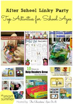 Top Activities for School Ages via The Educators' Spin On It