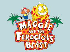 Maggie and the ferocious beast! <3 my childhood basically IS this show!