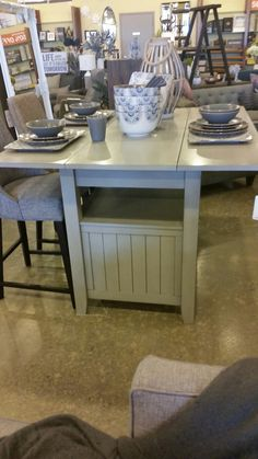 Counter High Table From Urban Barn