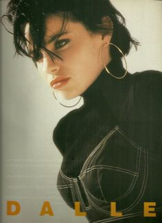 Béatrice Dalle awsome looks in the 80's.