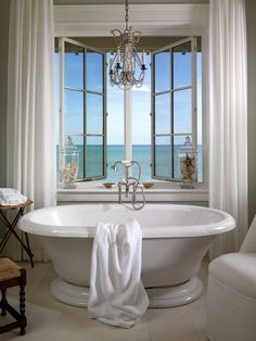 I like this bathroom. But I don't think I want windows in my bathroom.