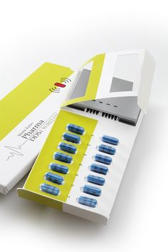 Stora Enso Pharma DDSi Wireless is a new solution for enhancing the control of prescribed medication. The solution in based on conductive ink on a carton board based blister inlay which is embedded in the package.  Features: the tracking of one pill at the time on removal from the blister sends the data to cellular module and forwards wirelessly using GSM or GPRS cellular networks