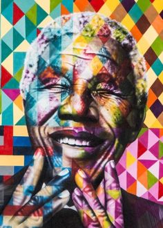 Kobra and Nelson Mandela – A World of Graffiti Kobra Street Art, Street Art Graffiti, Nelson Mandela, Arte Pop, Arte Mandela, Stencil Graffiti, Arte Fashion, Urbane Kunst, Modern Pop Art