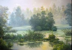 пейзажи художника Марины Гордеевой -11