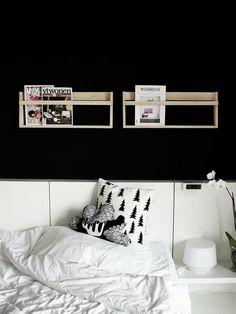 Via Annipalanni | Black and White | Bedroom | Fine Little Day
