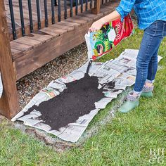Yes, You Can Build a Flowerbed Without Digging Transform your yard with this easy-to-build, no-till garden bed. You can simply take off the top layer of grass or build on top of the grass for a healthy planting spot.