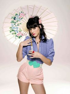 Katy Perry vintage style