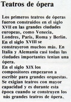 Teatros de Opera