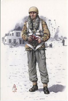 Alix Baker Postcard - AB28/5 Sergeant, 23 Parachute Field Ambulance, Royal Army Medical Corps, Suez 1956