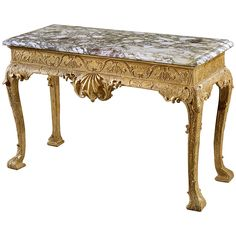 George II Giltwood Side Table | From a unique collection of antique and modern side tables at https://www.1stdibs.com/furniture/tables/side-tables/
