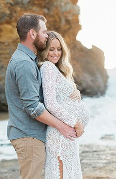Santa Cruz Beach Maternity Photos Santa Cruz Beach Maternity Photos - Inspired By This