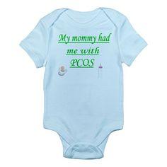 PCOS awareness Infant Bodysuit