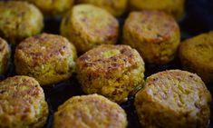 Home-made healthy chickpea falafel — Starts at 60 Falafels, Vegetarian Meatballs, Vegetarian Recipes, Mediterranean Cookbook, Food Stall, Albondigas, Sans Gluten, Gluten Free, Vegan Snacks