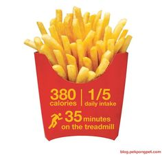 This is a good visual reminder every time you decide you want something like this. :) #mcdonalds #french #fries
