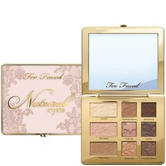 Find your natural beauty with the It Just Comes Naturally makeup collection from Too Faced. Highlight, luminize, bronze and flush with our effortless beauty palettes infused with hydrating coconut butter will make your dreams come true. Too Faced Too Faced Natural Eyes, Natural Face, Neutral Eyeshadow Palette, New Eyeshadow Palettes, Eye Palette, Beauty Box, Beauty Care, Natural Eyeshadow, Matte Eyeshadow