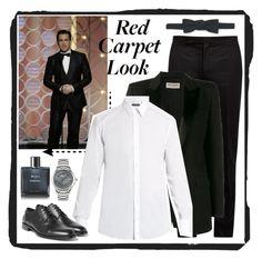"""Colin Farrell"" by justgottalive2 ❤ liked on Polyvore featuring Maison Margiela, Yves Saint Laurent, Dolce&Gabbana, Club Monaco, Chanel, Salvatore Ferragamo, men's fashion and menswear"