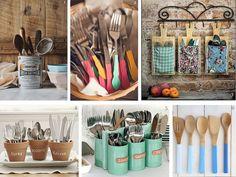 Renueva los espacios de almacenaje para tus #cubiertos y utensilios de #cocina