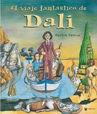 El viaje fantástico de Dalí / escrito e ilustrado por Carlos Esteve González.  Acompaña a Salvador Dalí y a Gala a través del viaje en el que descubren que la creatividad y la imaginación nos ayudan a alcanzar la etrene juventud, es decir, a seguir siendo unos jóvenes llenos de ilusiones.