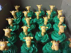 Girrafe cupcakes