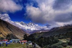 Everest from Tengboche by anna carter on 500px
