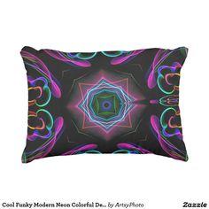 Cool Funky Modern Neon Colorful Decor Design