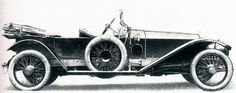 1912 London-to-Edinburgh Tourer by Holmes (chassis 2167) for G.T. Garland of Moreton Hall