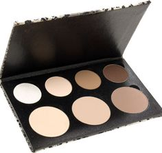 Contouring Snaky Palette - everything you need to contour the face and eyes.