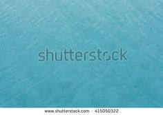 Turquoise water in a swimming pool