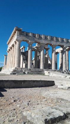 Temple of Athena Aphaia, Agia Marina, Aegina Island, Saronic Islands, Greece Shades Of Gold, Color Shades, Goth Home, New Inventions, Road Trippin, Greek Islands, Phone Covers, Greys Anatomy, Make Money From Home