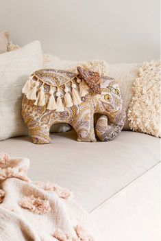 Check out Boho Elephant Throw Pillow from Urban Outfitters Elephant Cushion, Elephant Throw Pillow, Elephant Room, Elephant Home Decor, Llama Pillow, Urban Outfitters, Throw Cushions, Boho Throw Pillows, Diy Pillows