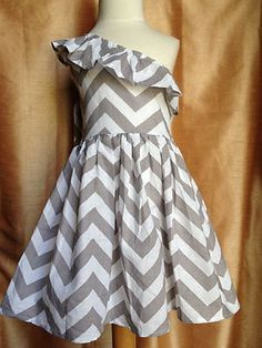 Robinson to bring in more grey Chevron Maxi one shoulder Dress for by adstorey on Etsy, $25.00
