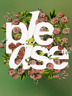 Flower and typography Beautiful work Cards by Antonio Rodrigues Jr, via Behance Typography Served, Lettering, Typography Letters, Typography Poster, Graphic Design Typography, Design Art, Print Design, Design Ideas, Typographie Inspiration