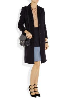 The Row Malskid wool-blend coat